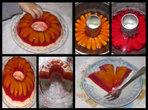 Желиран десерт с праскови