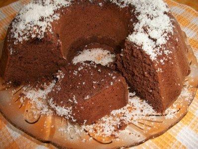 Дунапренов кекс с шоколадов пудинг