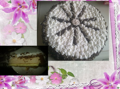 Торта с готови рула и още нещо