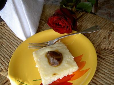Лесен милфьой със сладко от смокини