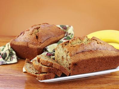 Бананов хляб с боровинки