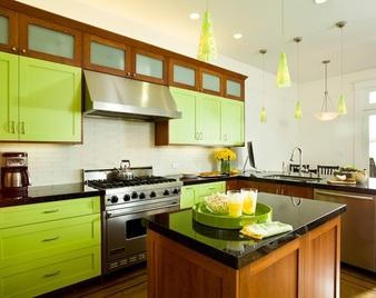Зелени идеи за вашата кухня