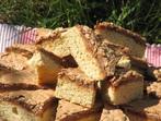 Сладкиш с орехова глазура
