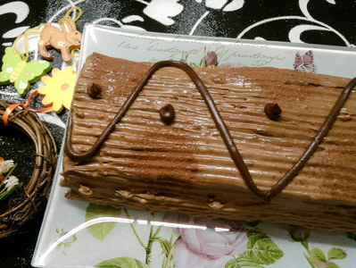 Тройно шоколадово руло