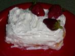Лек десерт с кисело мляко