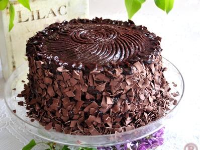"""Шоколадова торта """"Бруклинско затъмнение"""""""