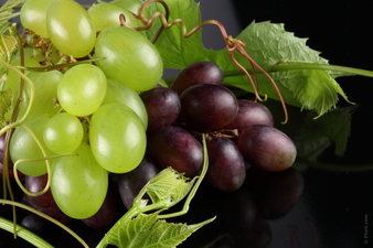 Стопете мазнините с грозде