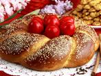 Великденски празничен венец
