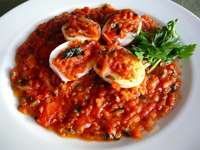 Яйца с доматен сос II
