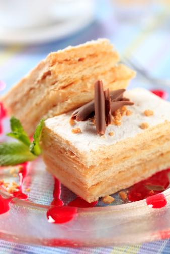 """Торта """"Наполеон"""" - гордостта на Франция"""