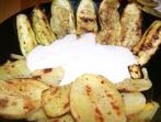 Тиквички и картофи на фурна