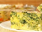 Солен кейк със спанак