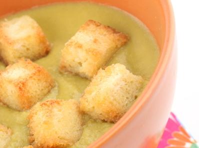 Пролетна крем супа