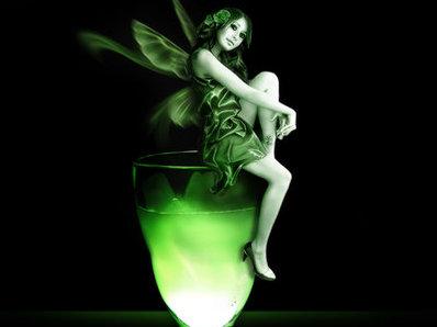 """Коктейл """"Зелената фея"""" (Green Fairy)"""