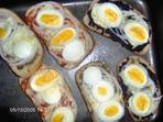 Брускети от пълнозърнест хляб