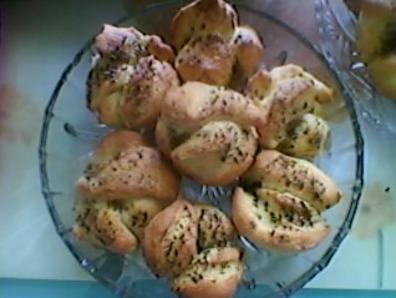 Солени мъфини с билки
