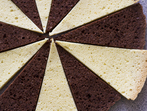 Бели и какаови пандишпанови блатове