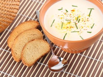 Супа с ким и сметана