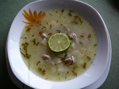 Рибена супа от филе