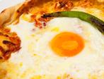 Пица с яйца