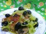 Tопла салата от пиле