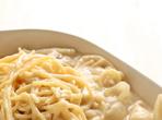 Спагети с крема сирене