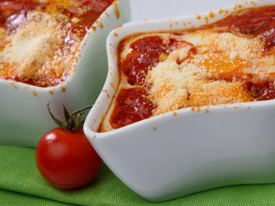 Запечени домати с яйца