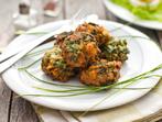 Зелени вегетариански кюфтенца