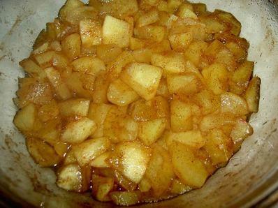 Карамелизирани ябълки