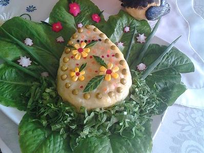Яйчице от картофено пюре
