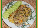 Зеленчуков микс с ориз