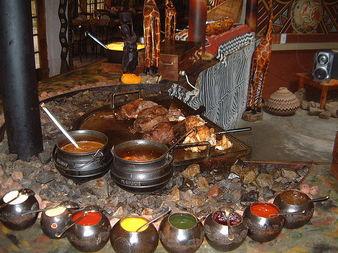 Южна Африка (регион): Кухня на дъгата