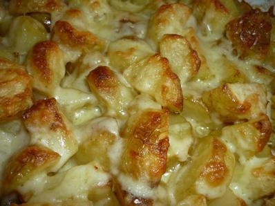 Пресни картофи на фурна с кашкавал