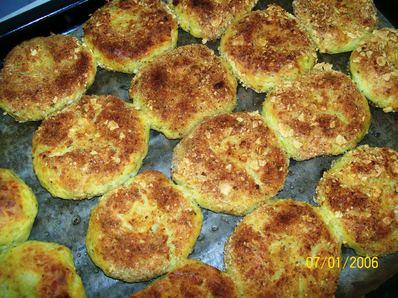 Хрупкави картофени кюфтета на фурна