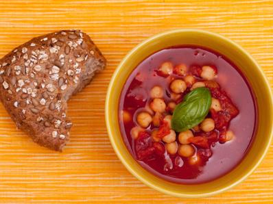 Супа с нахут и бакла (Мароко)