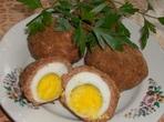Облечени яйца на фурна