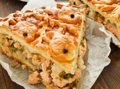 Рибен пирог