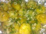 Картофки във фолио