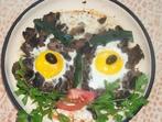 Яйца в гнезда от гъби