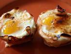 Мъфини с шунка и яйца
