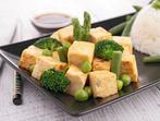 Тофу със зеленчуци на скара
