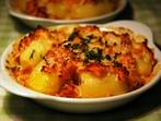 Картофи със сметана и бекон