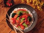 Телешко със зеленчуци и ориз