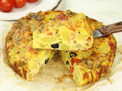 Картофена тортийа по испански