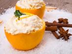 Пълнени портокали с крем
