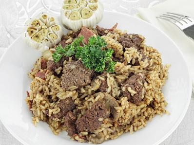 Лесно еленско с ориз