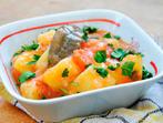 Печени картофи с тиквички