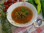 Супа за отслабване със зелен фасул