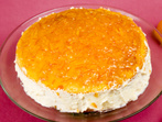 Желиран портокалов десерт