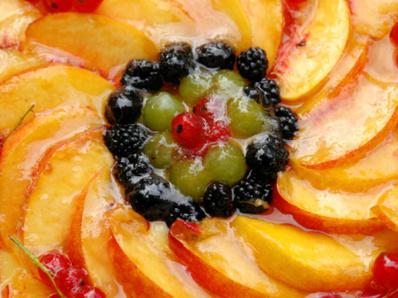 Желирана плодова торта